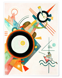 Premium poster  Arrowhead Picture - Wassily Kandinsky