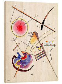 Wood  Composition - Wassily Kandinsky