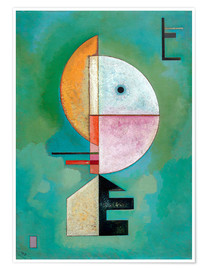 Poster  Upwards - Wassily Kandinsky