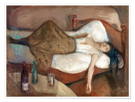 Poster  The Day After - Edvard Munch