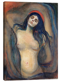 Canvas print  Madonna - Edvard Munch