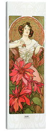 Canvas print  Ruby - Alfons Mucha