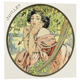 Forex  Les Mois - July - Alfons Mucha