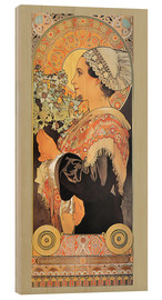 Alfons Mucha - silver thistle