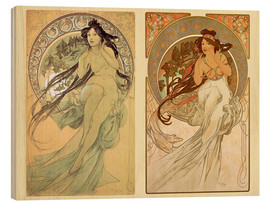 Alfons Mucha - The Four Arts, collage II