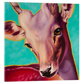 Acrylic glass  Deer  Gastuner - Renate Berghaus
