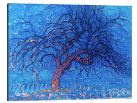 Alu-Dibond  The Red Tree - Piet Mondrian
