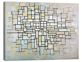 Canvas print  Composition No. II - Piet Mondriaan