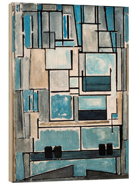 Wood  Composition No. VI - Piet Mondrian