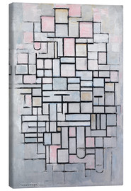 Canvas print  Composition No. IV. - Piet Mondrian