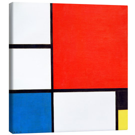 Canvas print  Composition II - Piet Mondriaan
