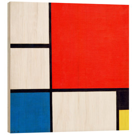 Wood  Composition II - Piet Mondrian