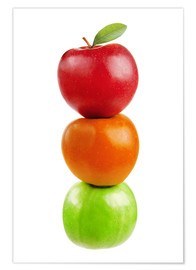 Premium poster Fruits Apples
