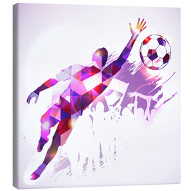 Canvas print  Soccer Goalkeeper - TAlex