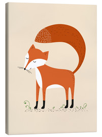Canvas print  Fox - Sandy Lohß