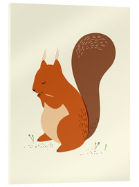 Acrylic print  Squirrel - Sandy Lohß