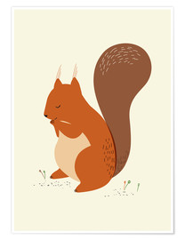 Premium poster  Squirrel - Sandy Lohß