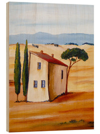Wood  Tuscany modern - Christine Huwer