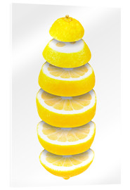 Acrylic glass  Lemon - pixelliebe