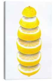 Canvas print  Lemon - pixelliebe