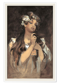 Poster  Watercolor, gouache and pencil - Alfons Mucha