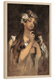Wood print  Watercolor, gouache and pencil - Alfons Mucha