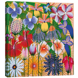 Canvas print  Flower miracle of the jungle - Wasia