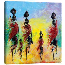 Canvas print  Everyday life of African women - Nangida