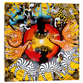 Acrylic print  The circle of life in the morning - Mteko