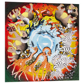 Foam board print  The Circle of Life - Mteko