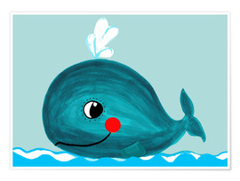 Little Miss Arty - Willow, the friendly whale