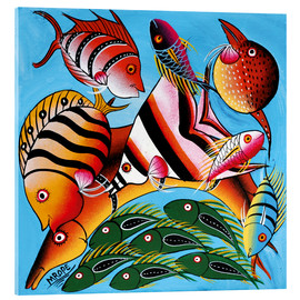 Acrylic print  African fish species - Mrope