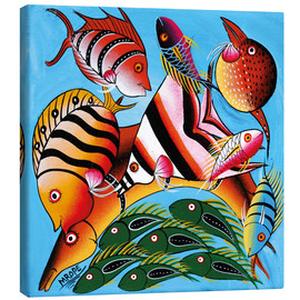 Canvas print  African fish species - Mrope