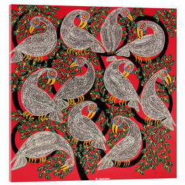 Acrylic print  Vultures in the tree crown - Hassani