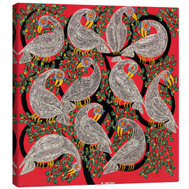 Canvas print  Vultures in the tree crown - Hassani