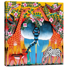 Canvas print  Africa at dusk - Mrope