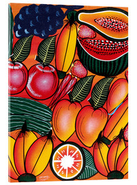 Acrylic print  Exotic Fruits All kinds of - Chilambo