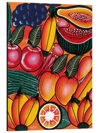 Aluminium print  Exotic Fruits All kinds of - Chilambo