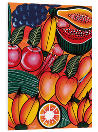 Foam board print  Exotic Fruits All kinds of - Chilambo