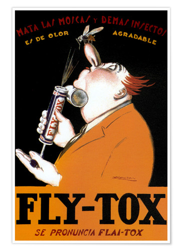 Premium poster Fly Tox