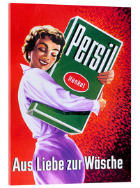 Acrylic glass  Persil - For the love of lingerie