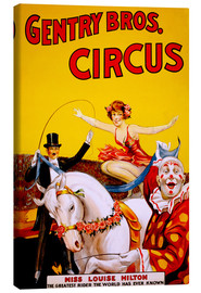 Canvas print  Gentry Bros  Circus - Advertising Collection