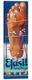 Canvas print  Efasit pedicure - Advertising Collection