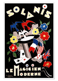 Premium poster Solanis, the modern magician