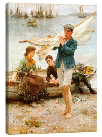 Henry Scott Tuke - Return from the fishing