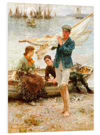 Forex  Return from fishing - Henry Scott Tuke
