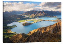 Canvas print  Wanaka Mountains - Michael Breitung