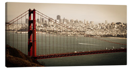Canvas print  San Francisco Panorama - Jan Schuler