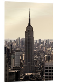 Acrylic print  Empire State Building Vintage - Buellom