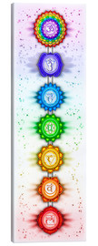 Canvas print  The Seven Chakras - Series V - Artwork II - Dirk Czarnota